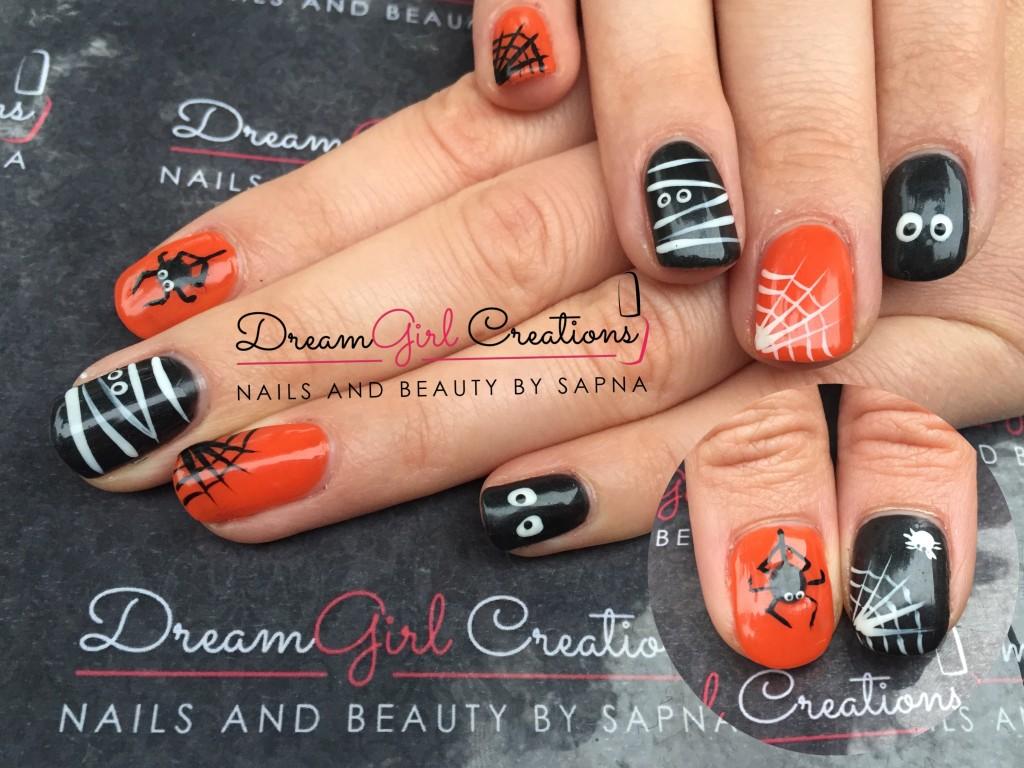 Electric Orange & Black Pool